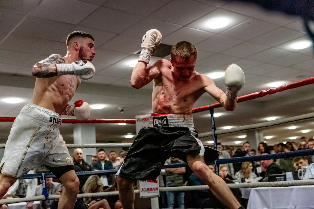 Lewis Sylvester Boxing