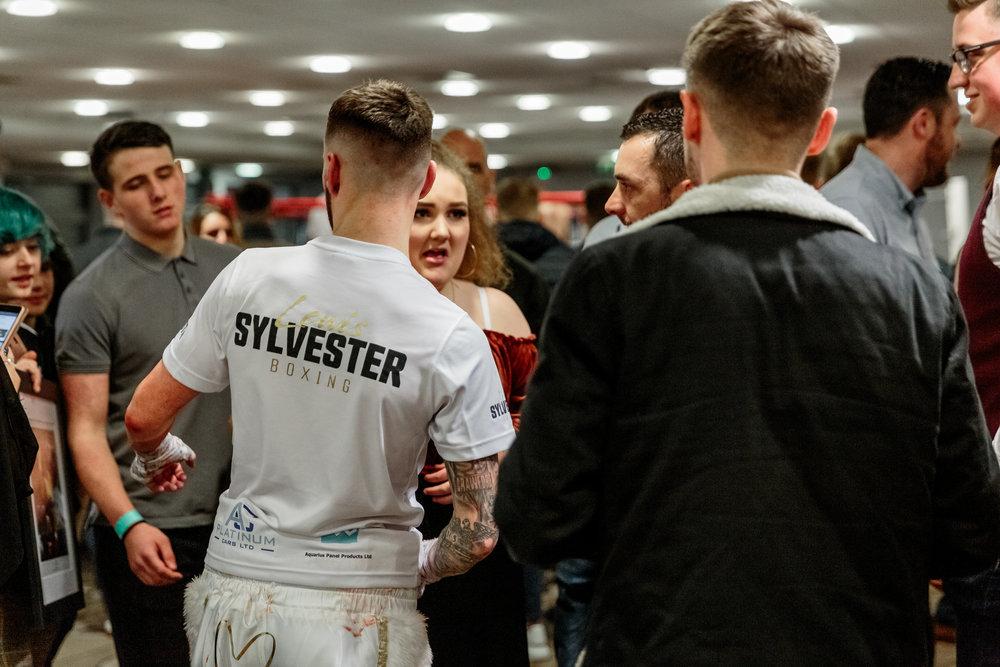 Lewis Sylvester Greeting his Fans