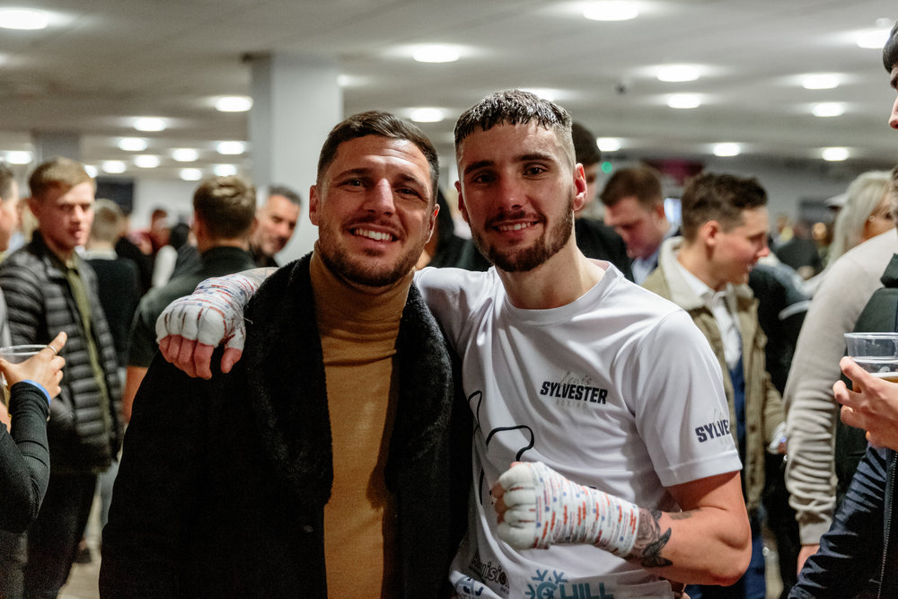 Tommy Coyle with Prodigy, Lewis Sylvester