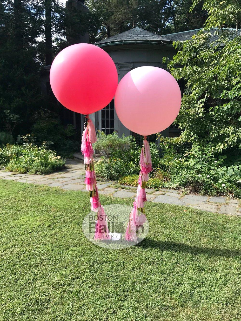 3 Foot Tassel Balloons!