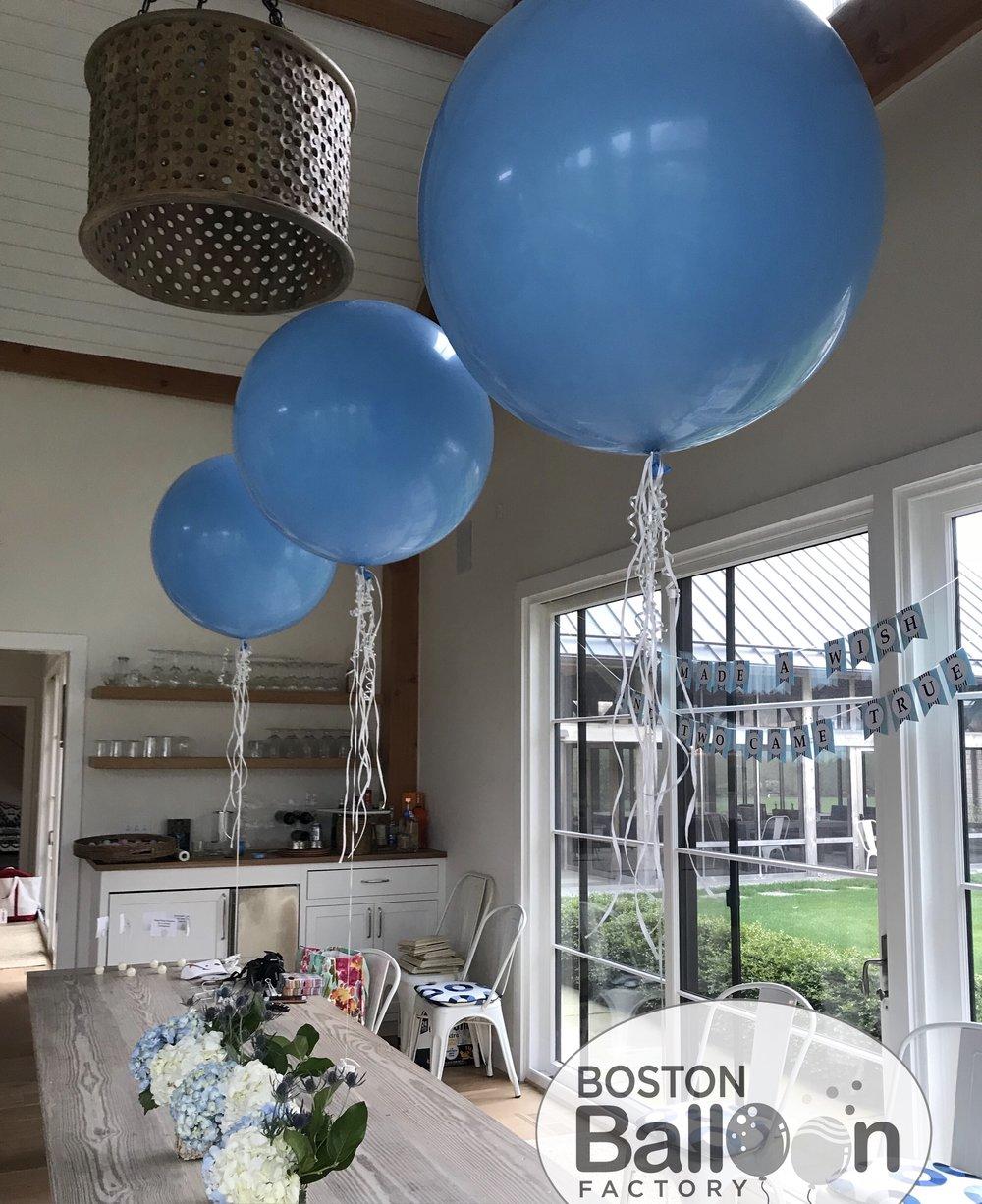 3 Foot Ribbon Balloons!