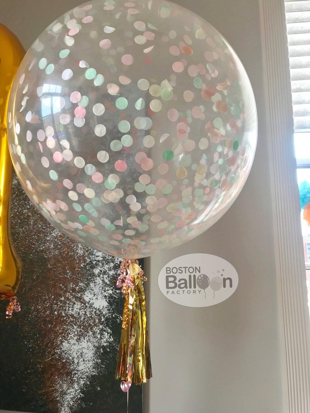 3 Foot Confetti Filled Balloon!