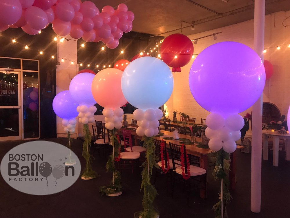 3 Foot LED Lighted Balloons!