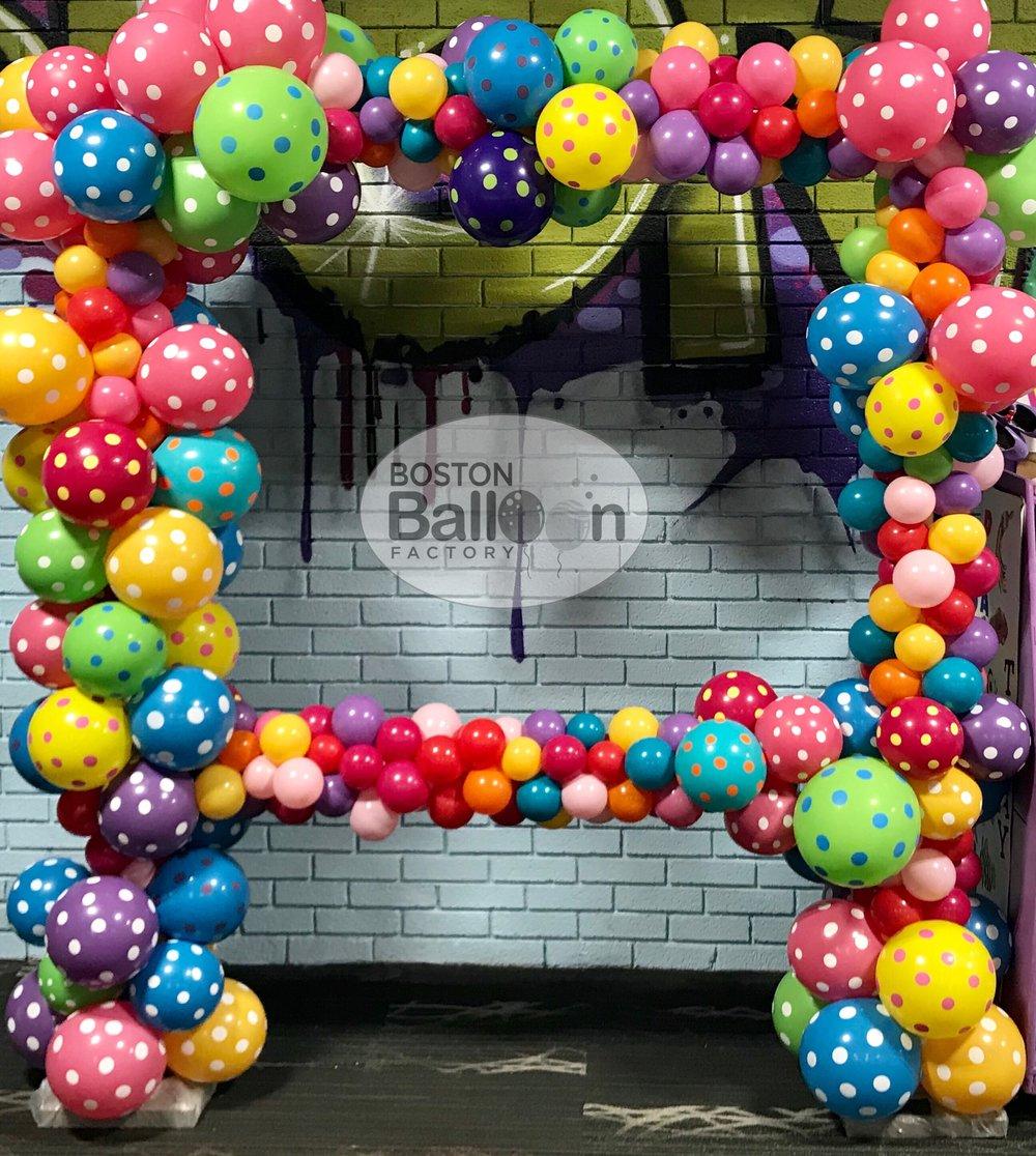 Balloon Photo Frame!