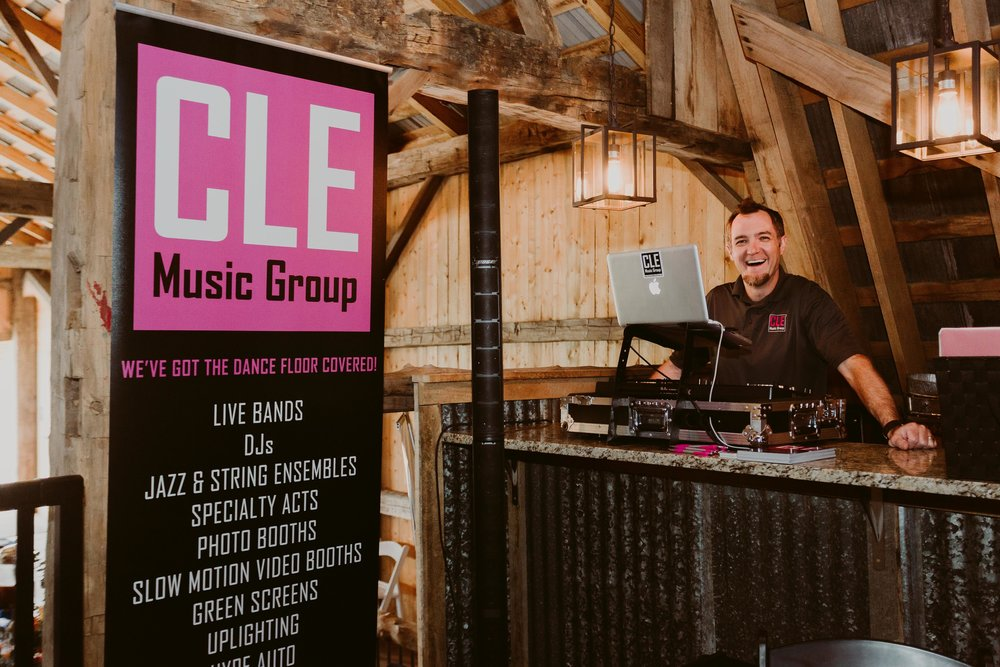 Scott with  Cleveland Music Group  (photo credit -  Mallory + Justin Photography)