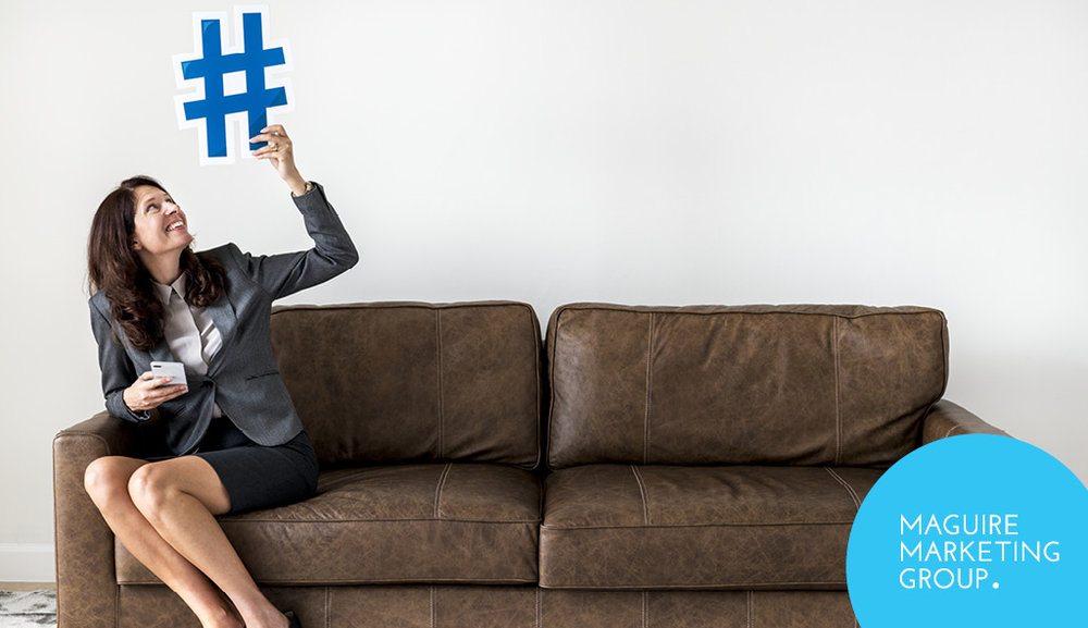 Hashtags are words or phrases using a hash sign