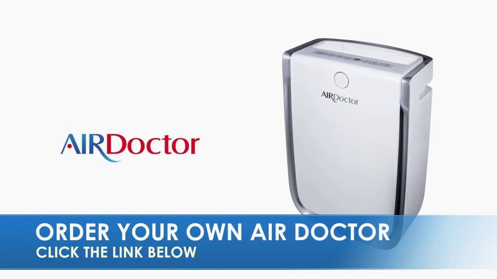 AirDoctor Professional Air Purifier ...Dr. Hyman 50% off.Reduce contaminents in your home such as mold, pollen, allergies, pet dander, cigarette smoke, VOC's and synthetic chemicals. AirDoctor is 100X More Effective than Ordinary Air Purifiers.