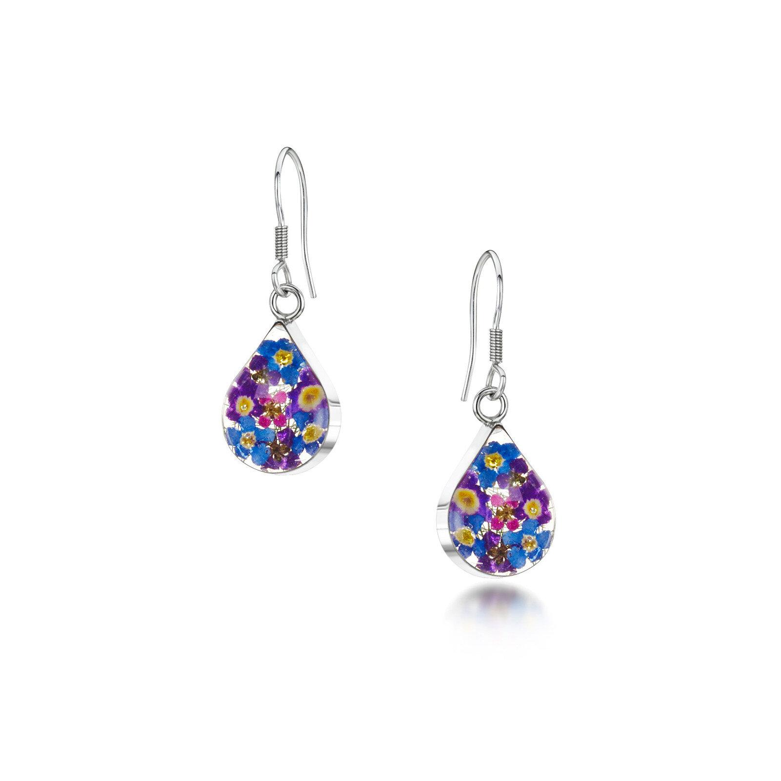 Sterling Silver Dangle Teardrop Earrings Gifts And Gallery