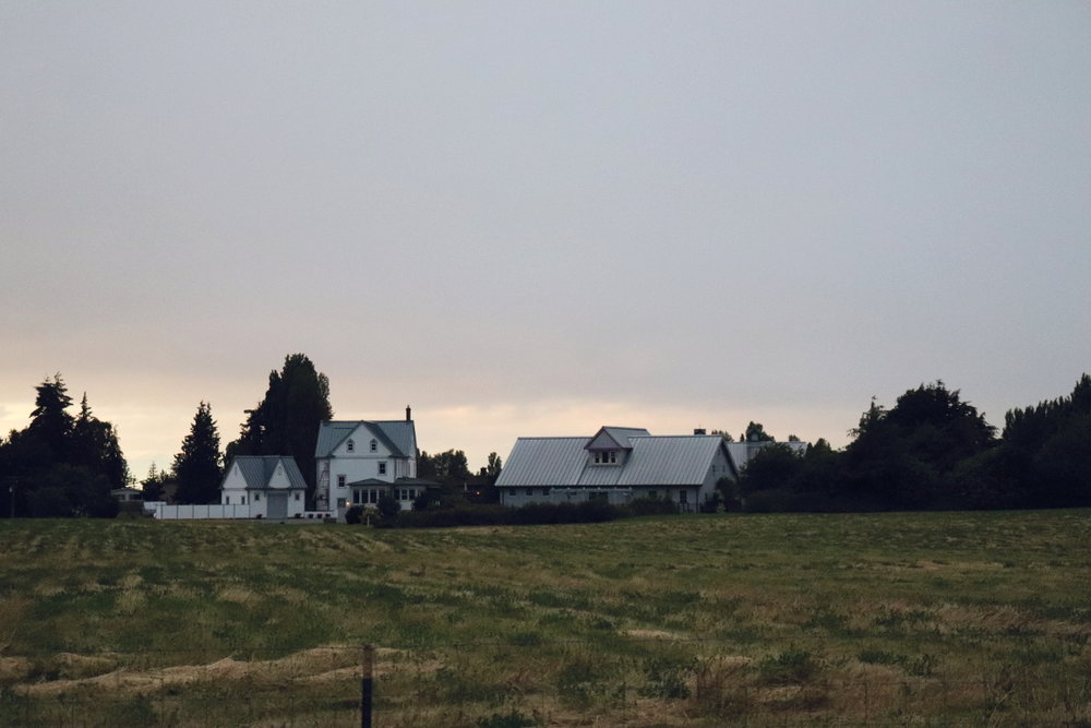 Olympic peninsula Sequim Washington Farmhouse Countryside Life in the Washington Wilderness