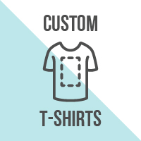 WE CAN DESIGN PRINT AND PACKAGE ANYTHING YOU NEED ON A T-SHIRT!