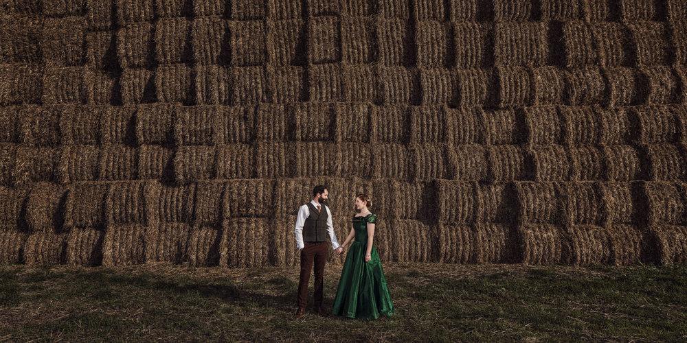 Oxfordshire farm wedding