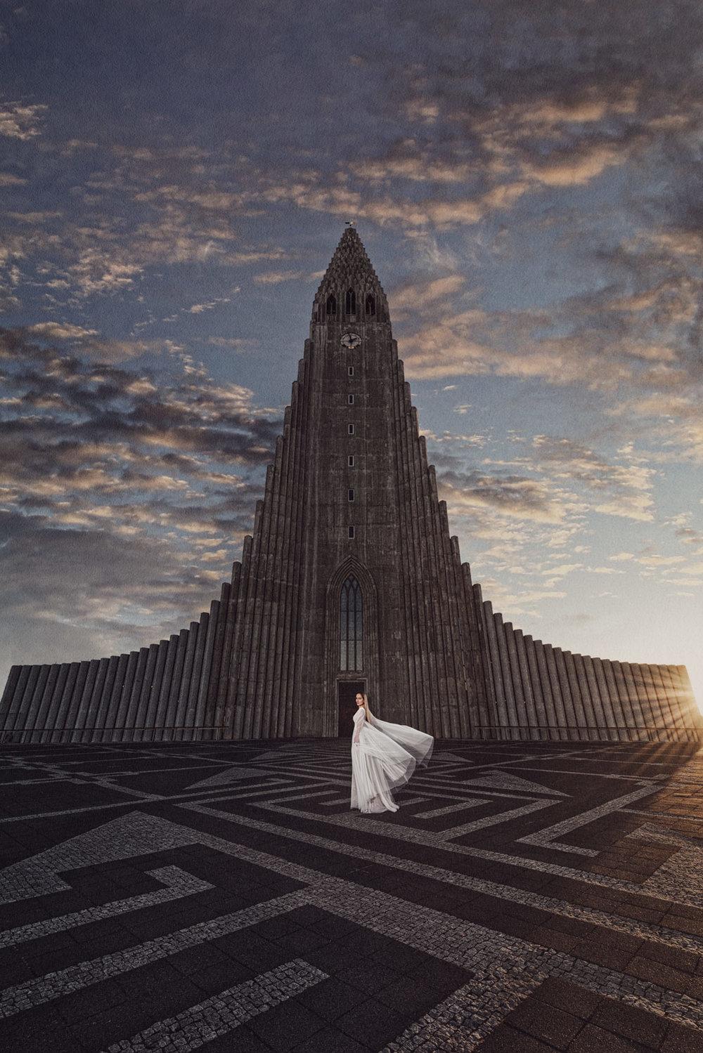 Professional magazine style wedding photography