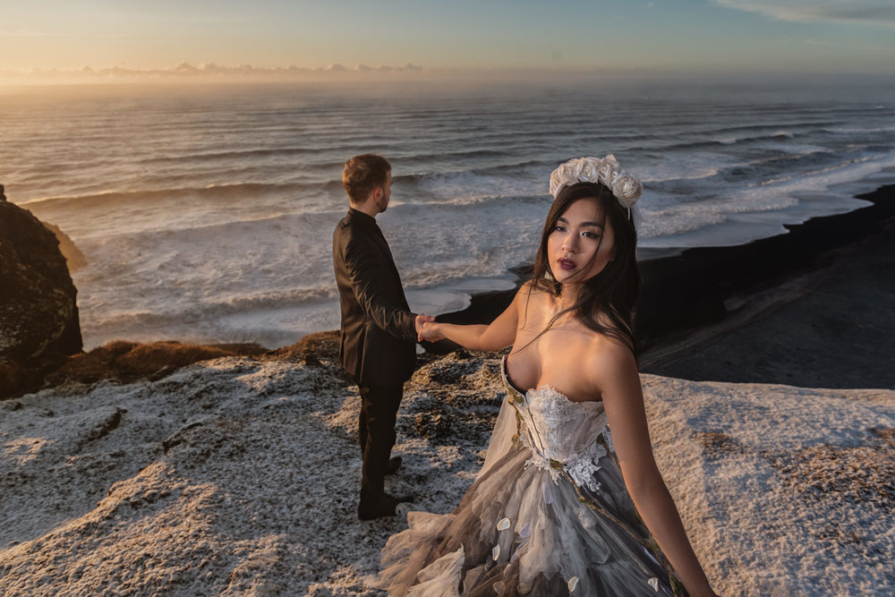 Fashion style wedding photography