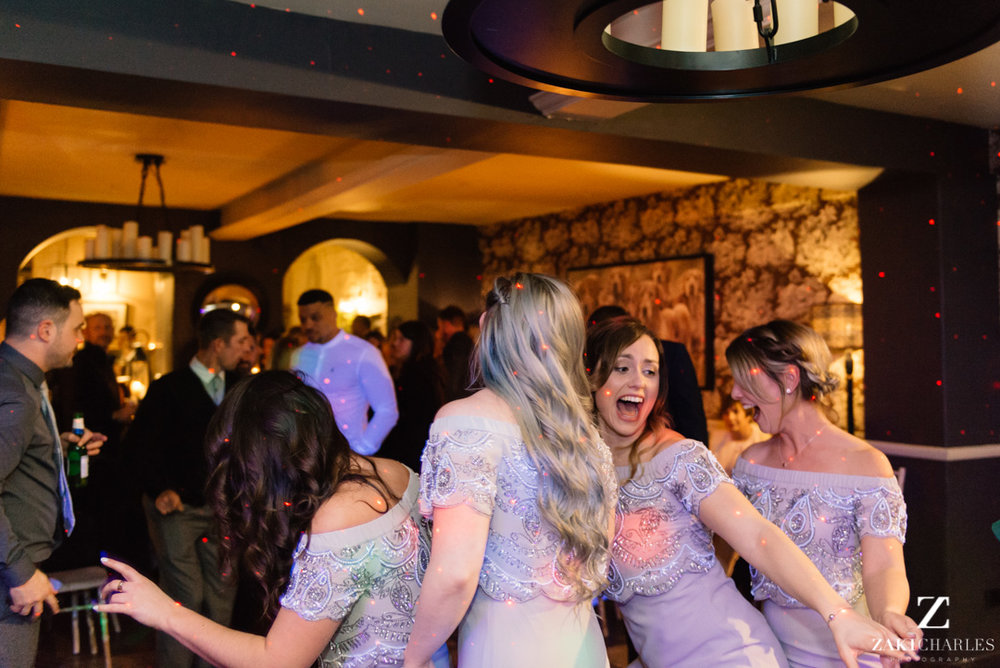 The Bay Tree Hotel guests dancing