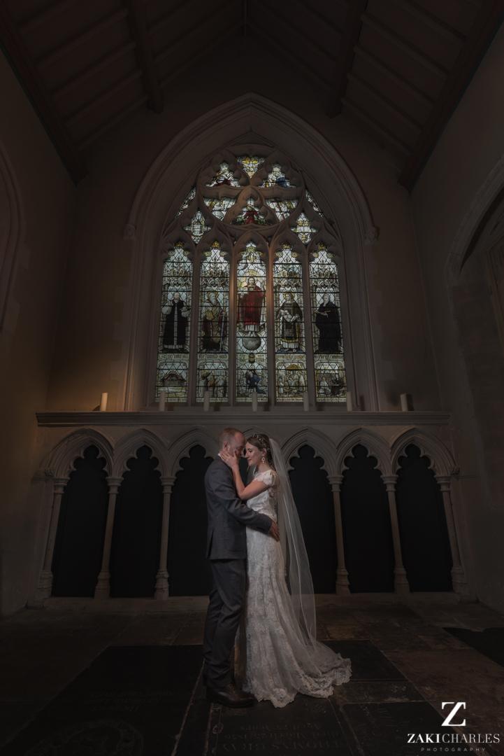 St aldates church wedding portraits