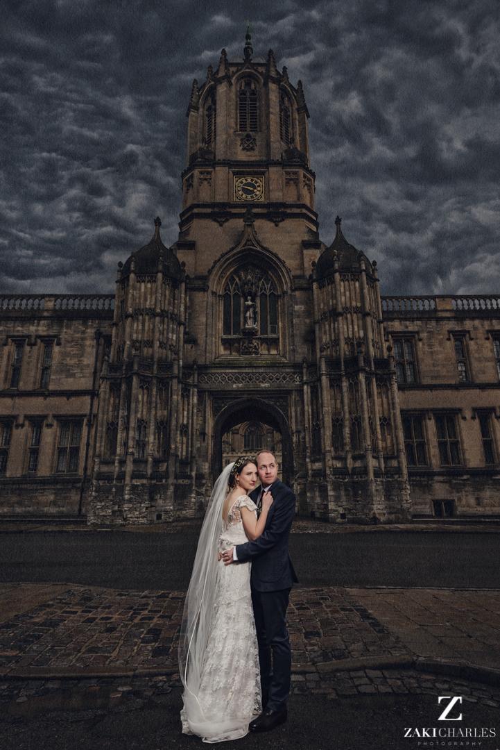 Oxford university wedding photography
