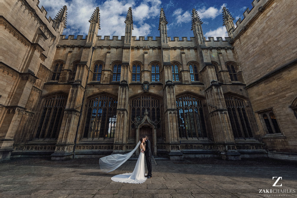 The Bodleian Library wedding
