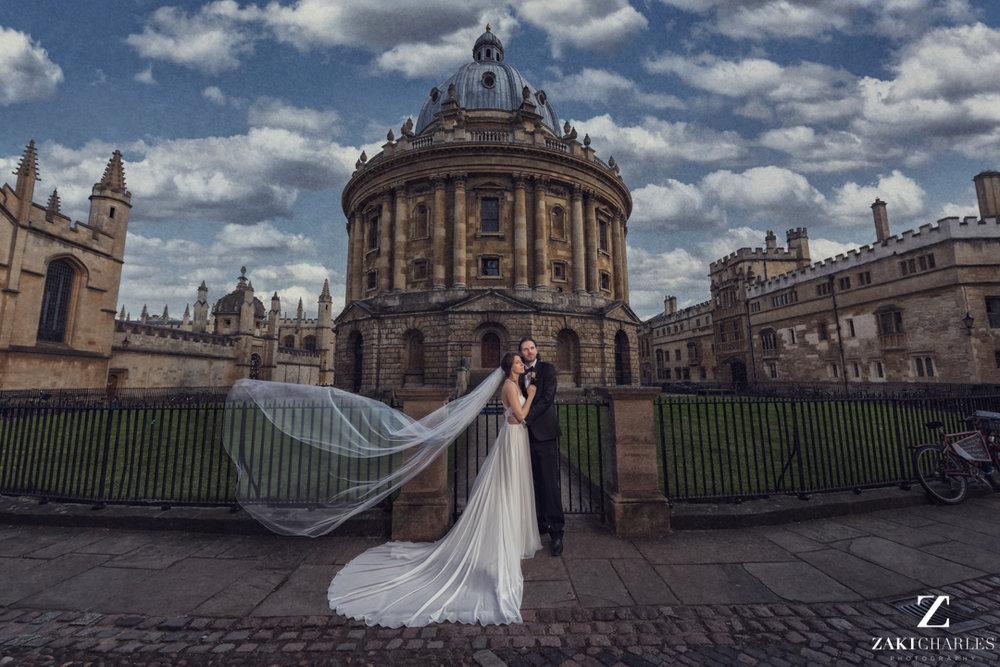 The Radcliffe Camera Wedding