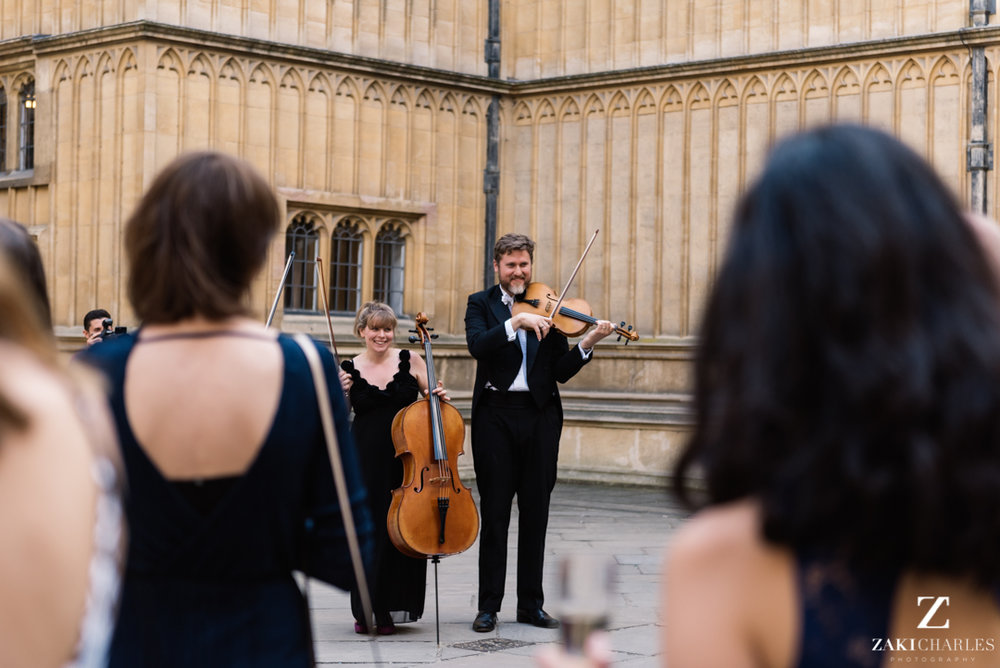 Live music at The Bodleian Library
