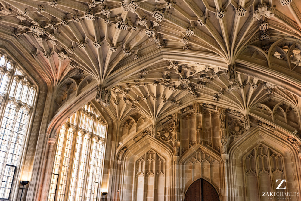 The Bodleian Library archtecture