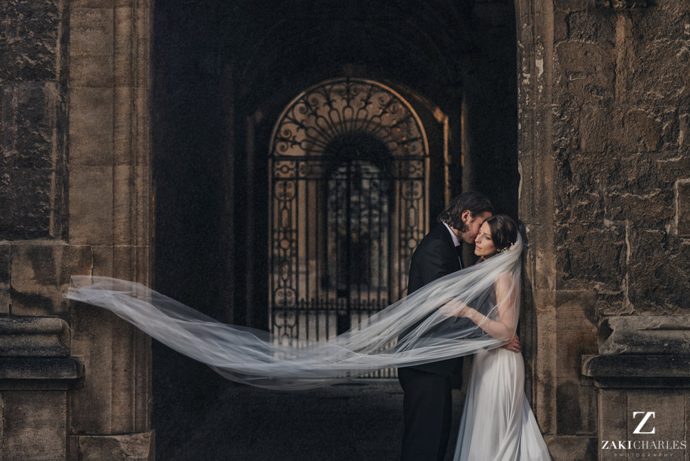 Couples portraits at The Bodleian Library