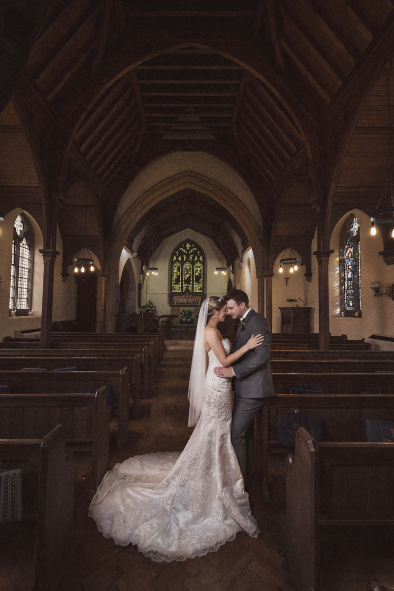Cinematic wedding photography by Zaki Charles Photography
