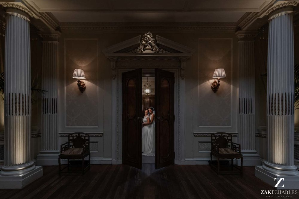 Hedsor House wedding photographer Zaki Charles