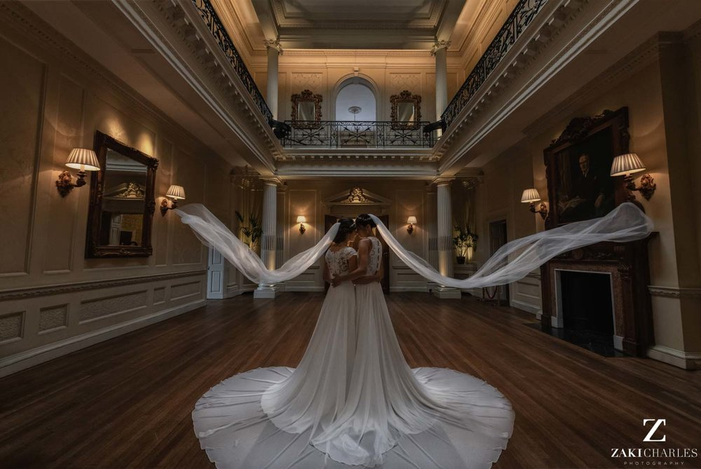 Same sex wedding at Hedsor House 3