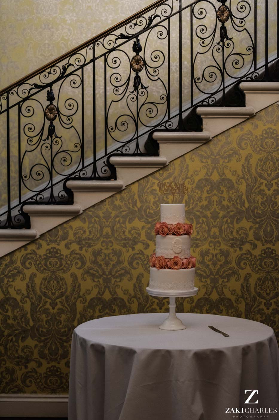 Wedding cake in Hedsor House