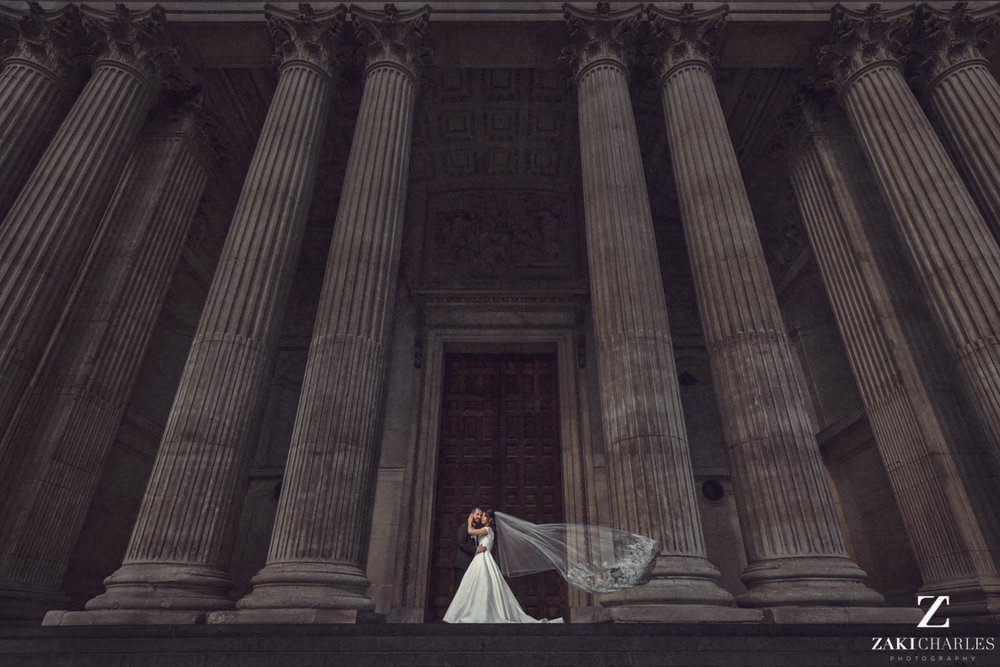 Fine art wedding photography at Marriott Hotel Regents Park 1