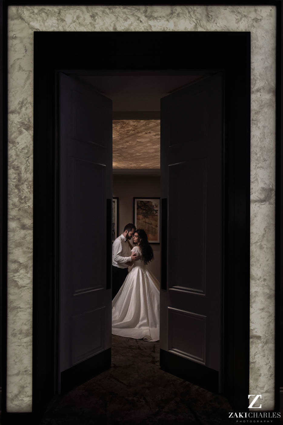 Fine art wedding photography at Marriott Hotel Regents Park 5