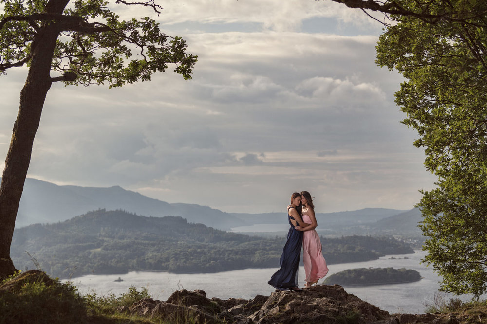 Engagement photographer Zaki Charles