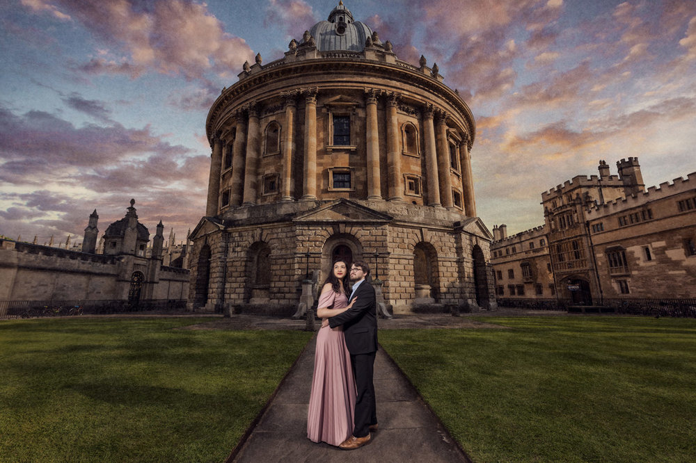bodleian library wedding photography