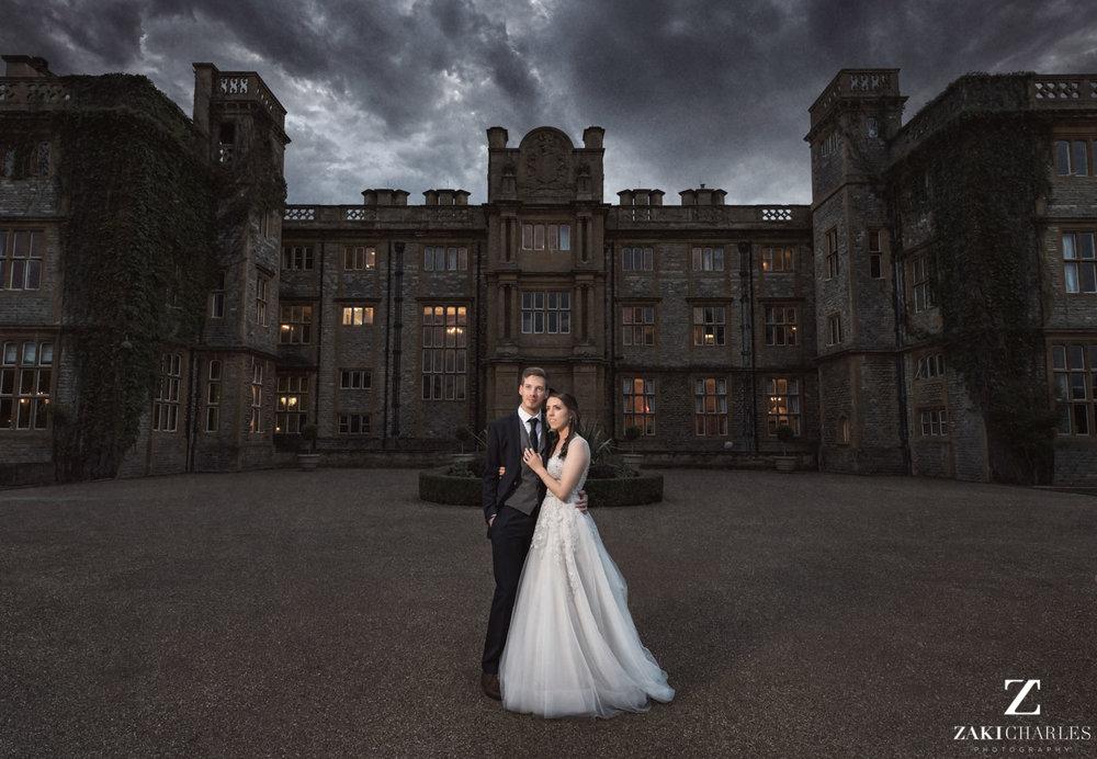 Eynsham Hall wedding photography by Zaki Charles
