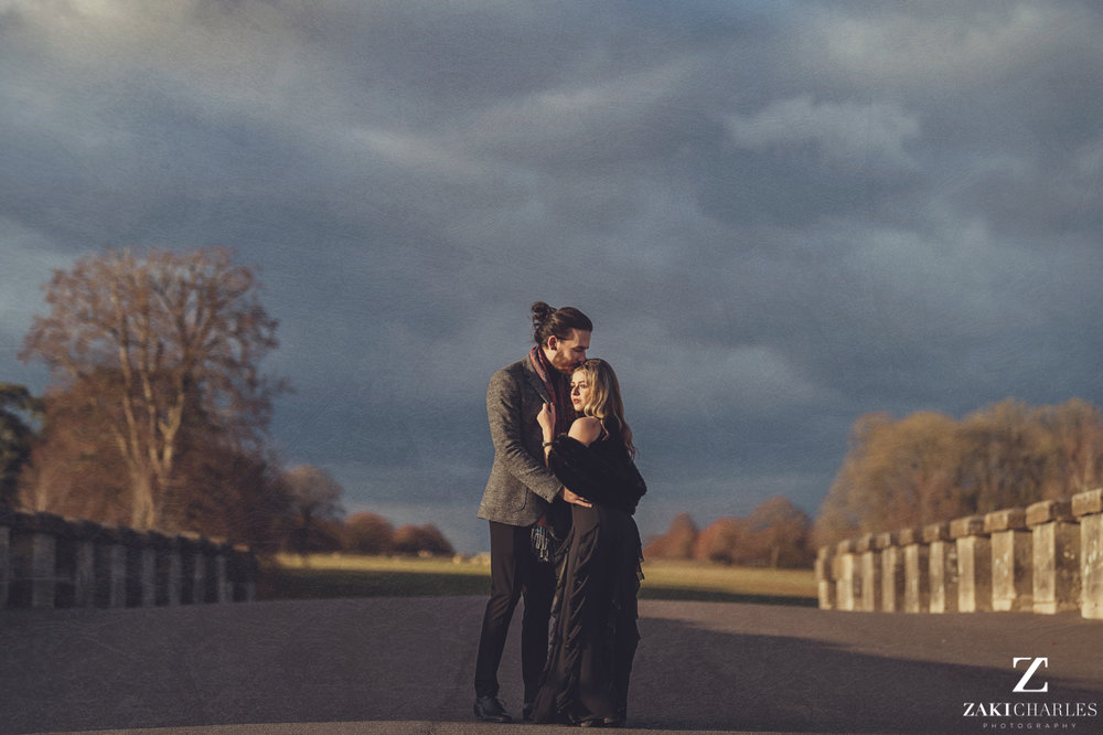 Blenheim Palace Engagement Session, AJ and Yannis, Zaki Charles Photography 1