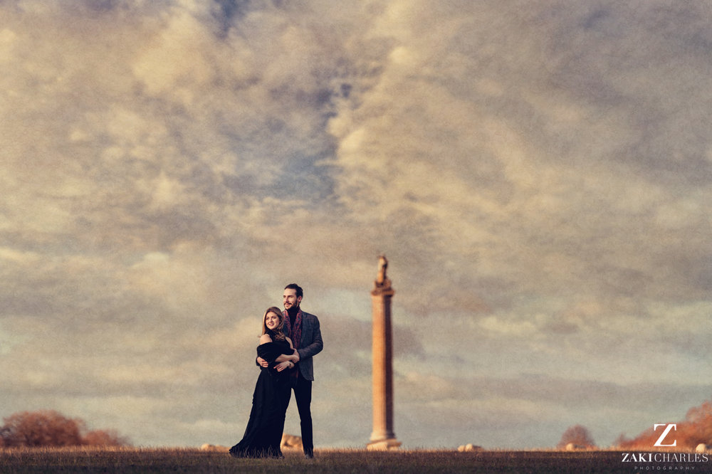 Blenheim Palace Engagement Session, AJ and Yannis fine art photography, Zaki Charles 3