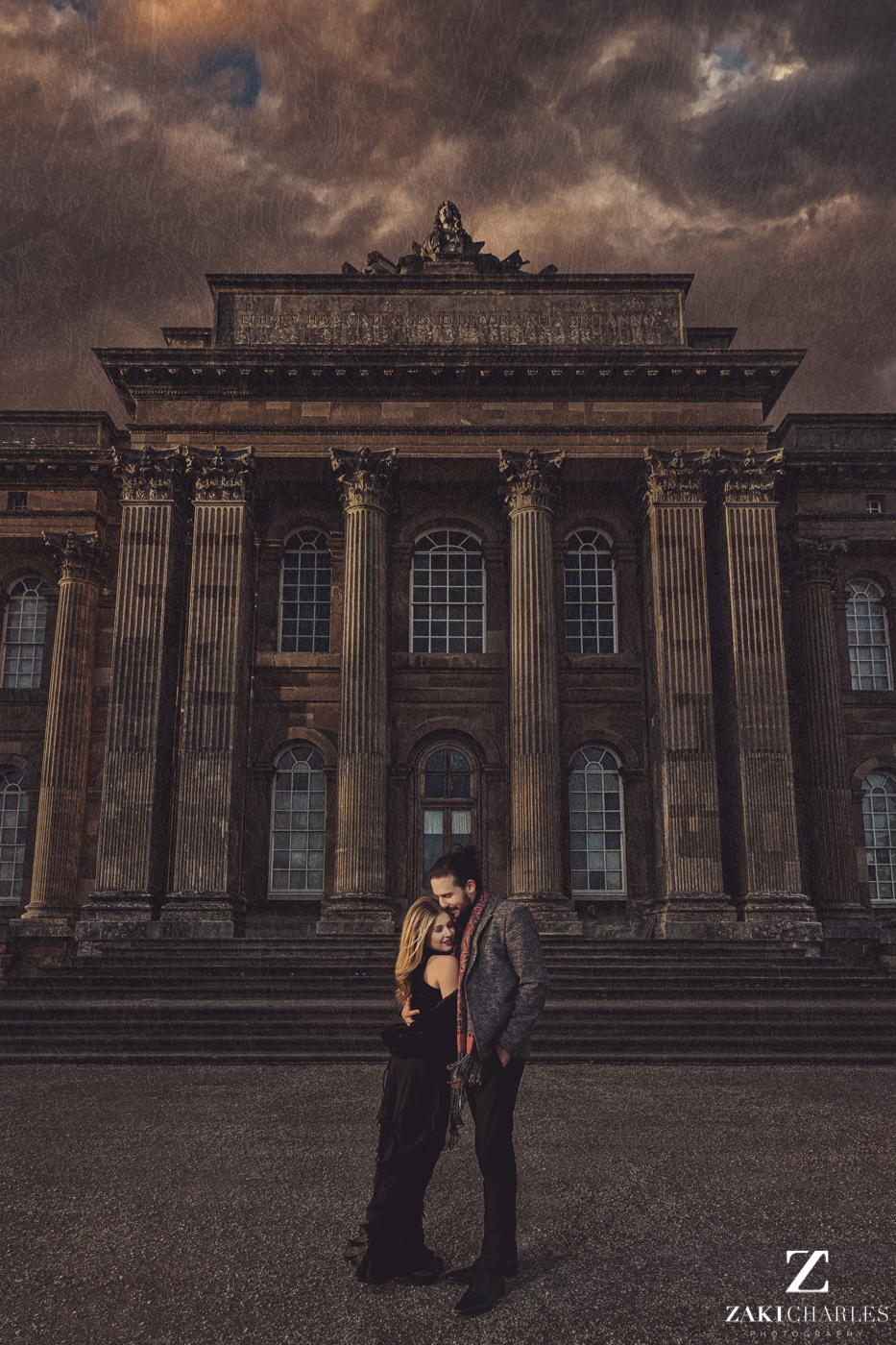 Blenheim Palace Engagement Session, AJ and Yannis fine art photography, Zaki Charles 1