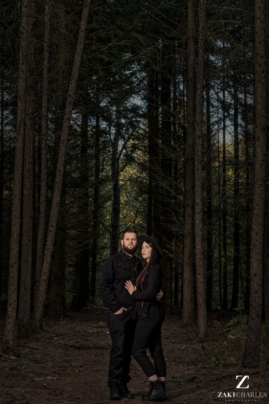Black Park Engagement Session, Kirsty & Alex Zaki Charles Photography 1