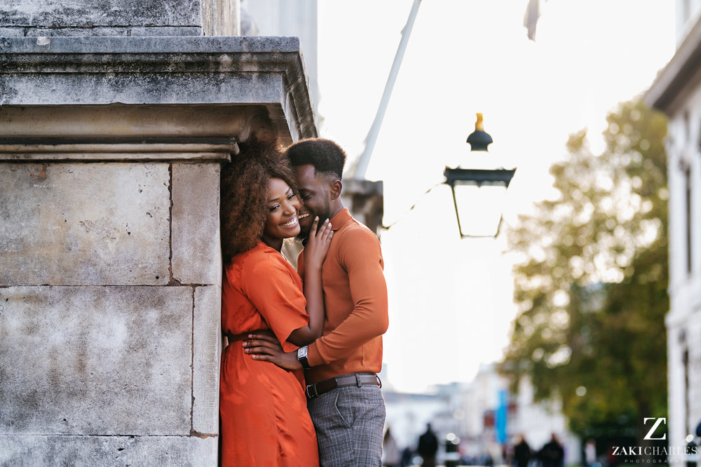 London City Engagement Session, Sam and Jude, natural light photography 1
