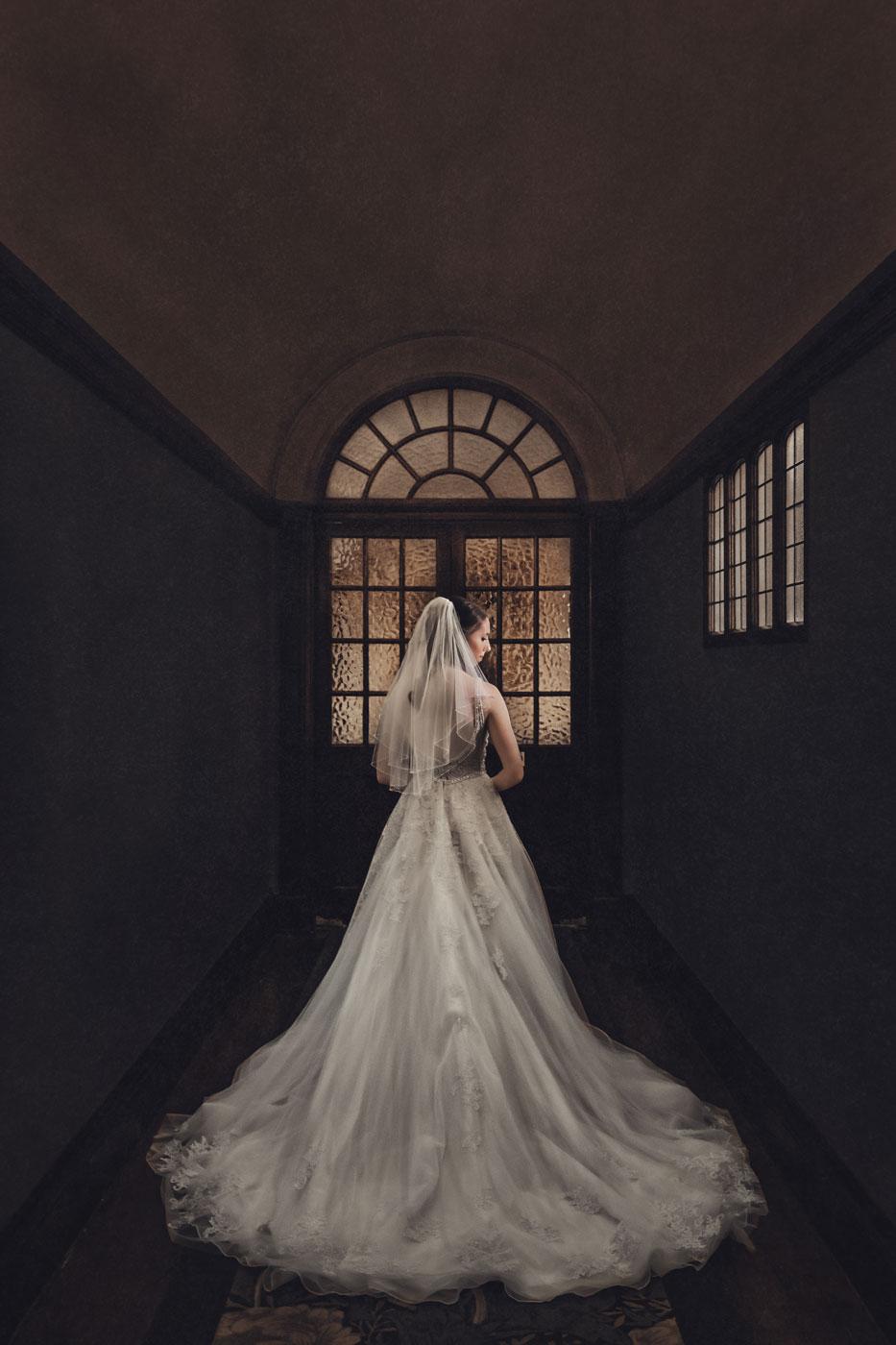 Fine art wedding photography at Eynsham Hall