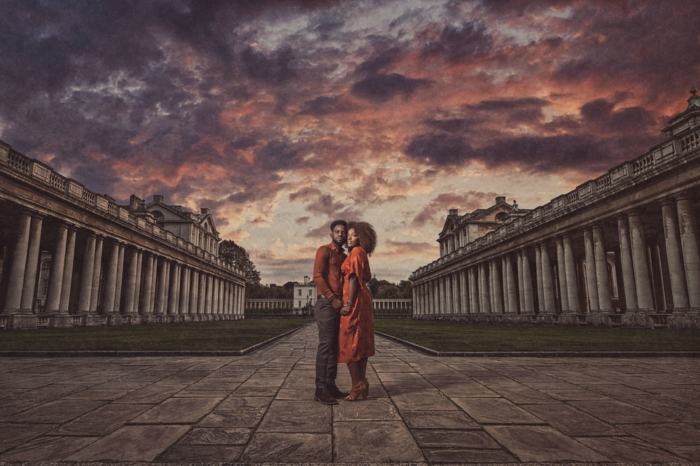 Greenwich Park engagement photography
