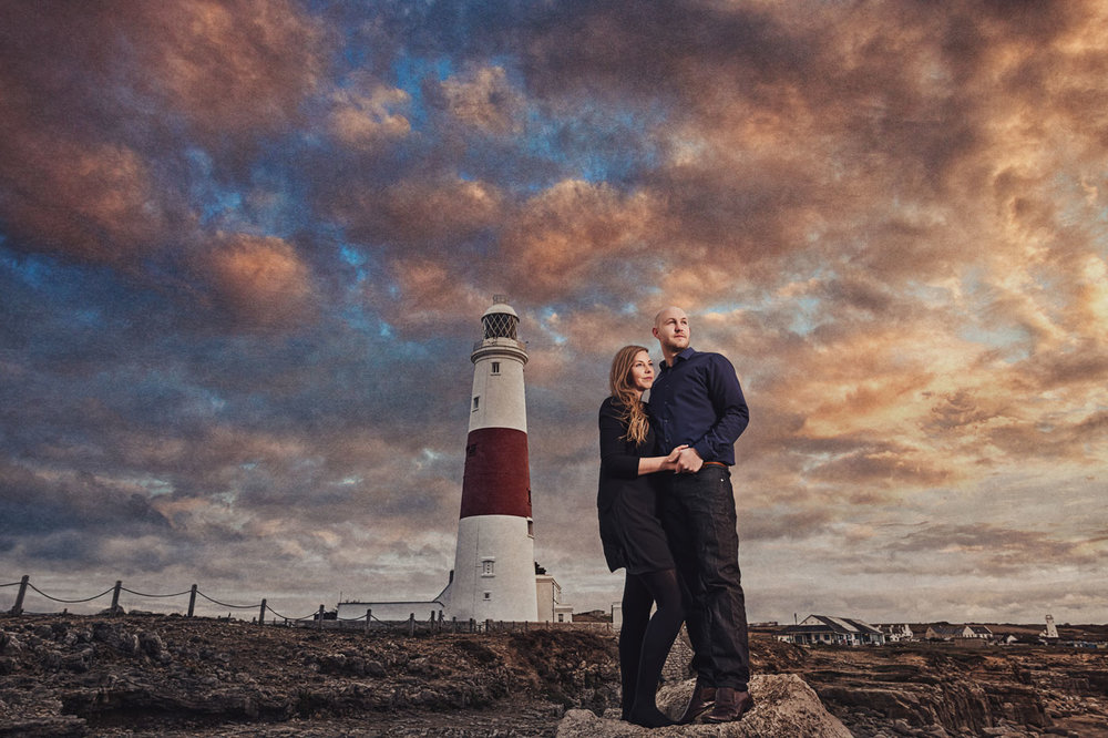 Lighthouse engagement session 1