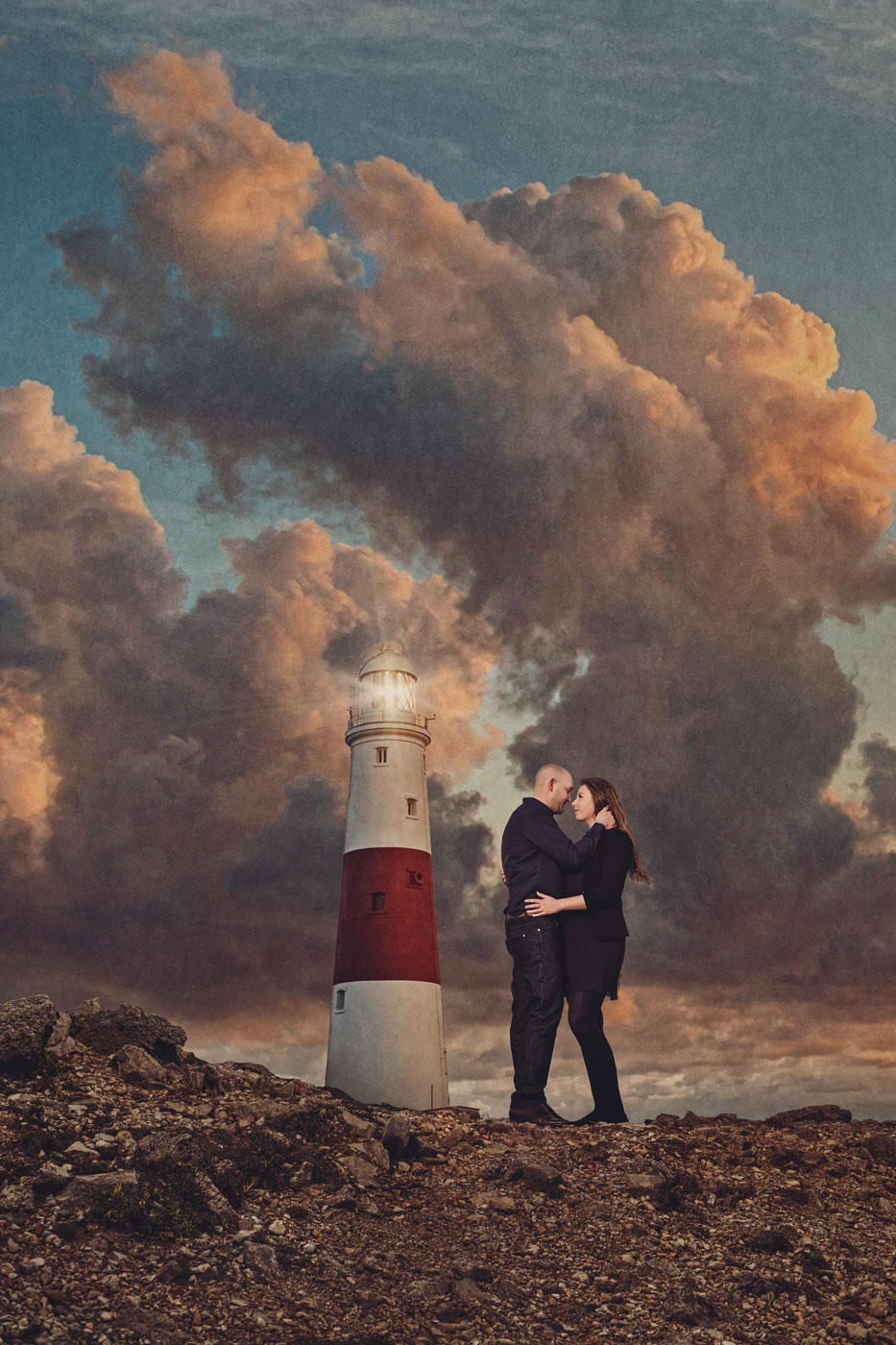 Lighthouse engagement session 2