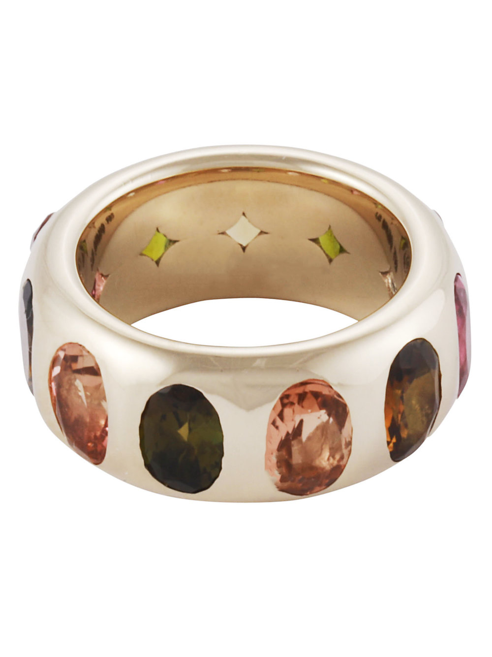 Tourmaline Eclipse Ring