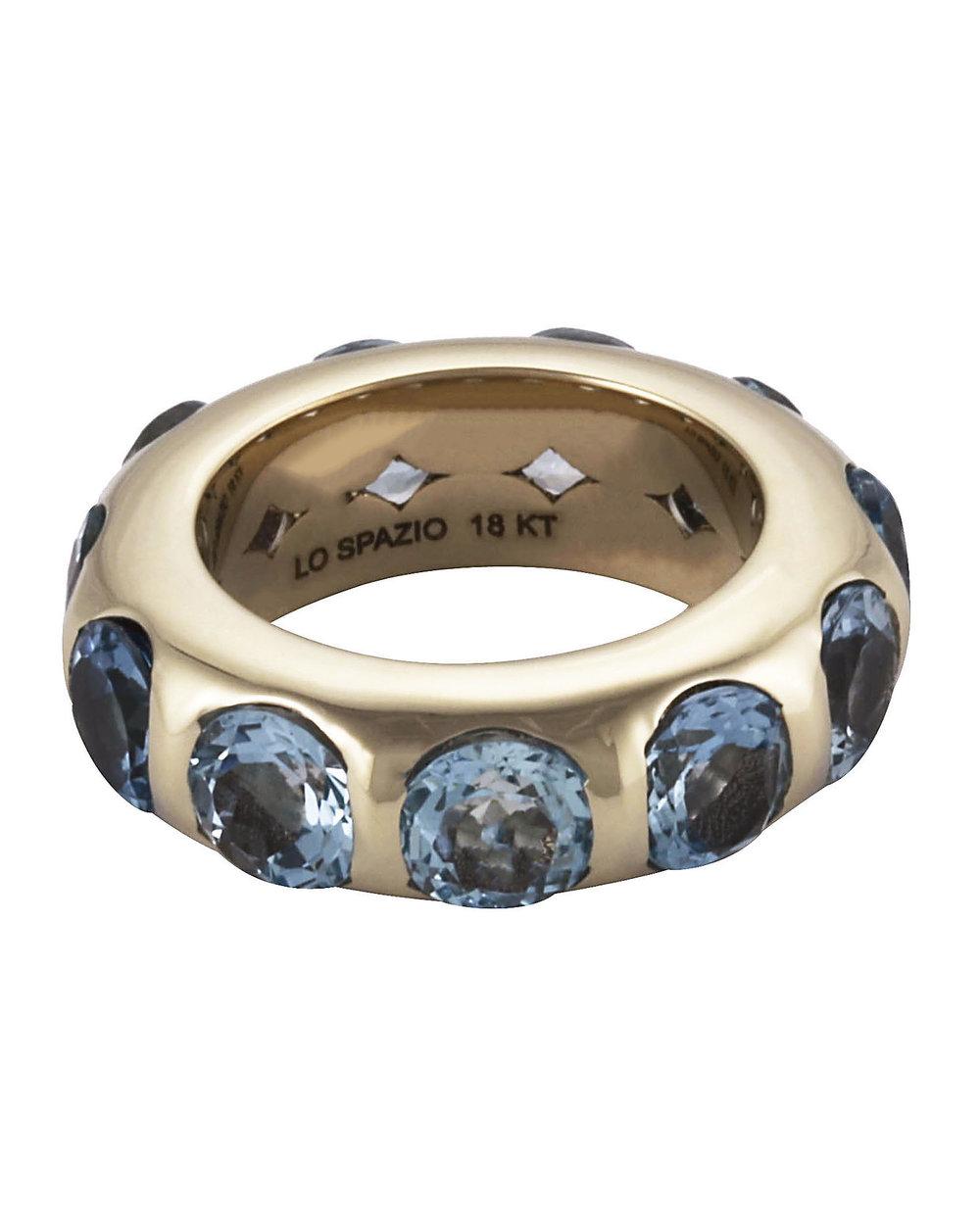 Aquamarina Ring