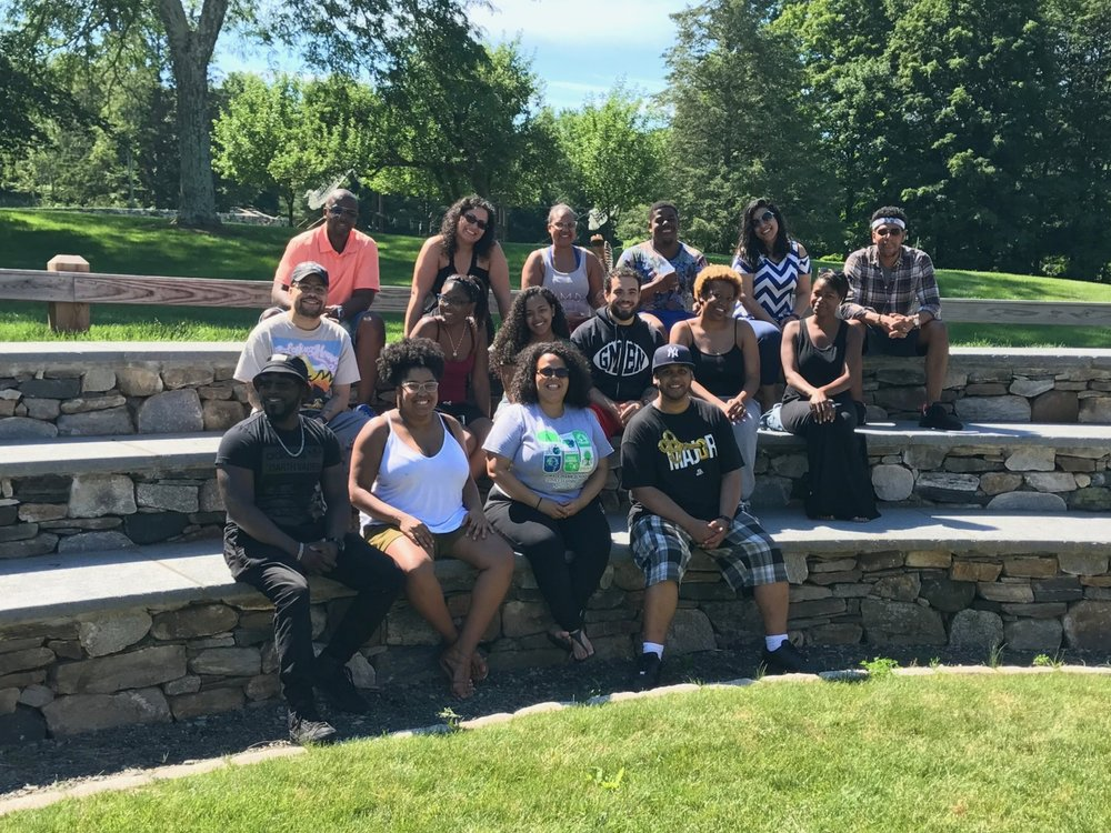 At the John Dorr Nature Lab for Summer on the Hill Alumni Dorr Weekend - June 2017
