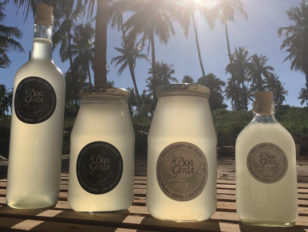 Boa Gente 750ml & 200ml bottles © Boa Gente