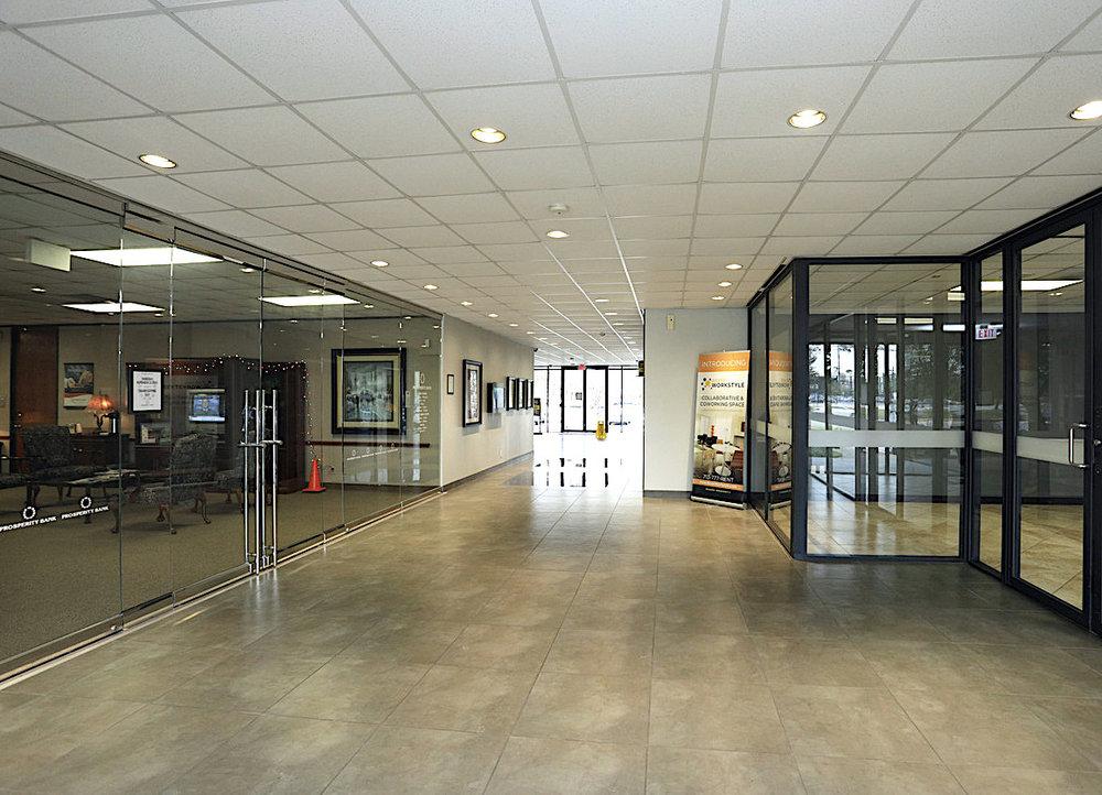 SERP Matrix Lobby Entrance