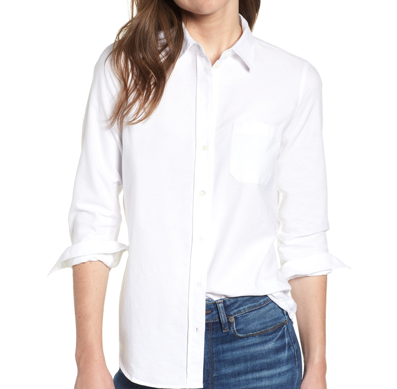 Tomboy Cotton Poplin Shirt - SÉZANE