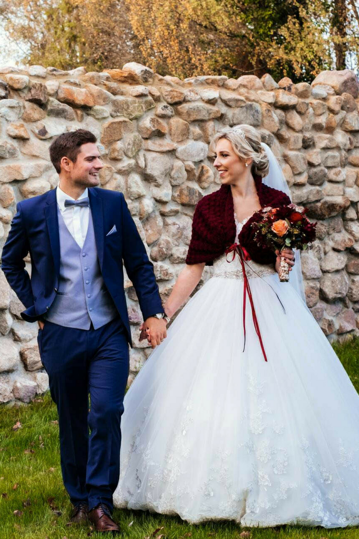 Bridal Cover Up Marsala Jacket Spring Wedding Shrug Bridesmaid Bolero Knit Shawl with Satin Ribbon Burgundy Wrap.png